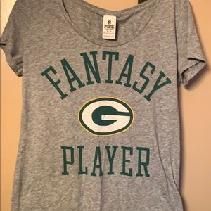 Green Bay packers scoop shirt